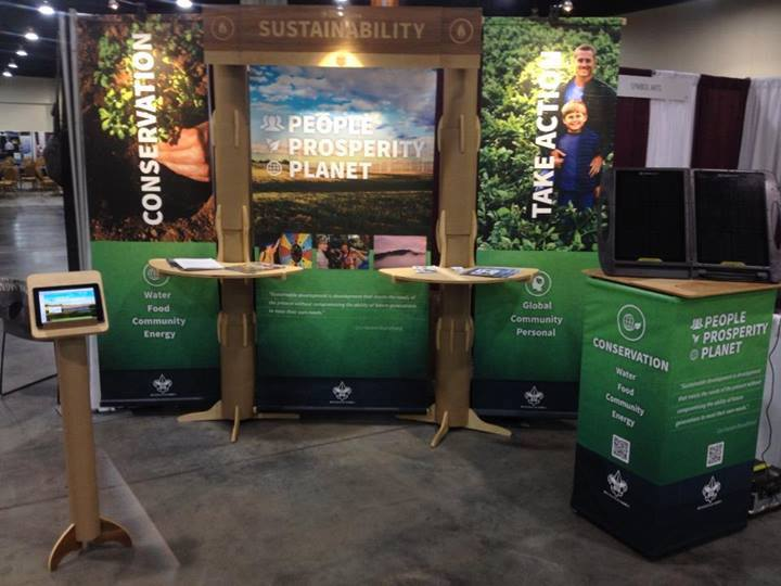 Tradeshow Booth Design for Boy Scouts of America