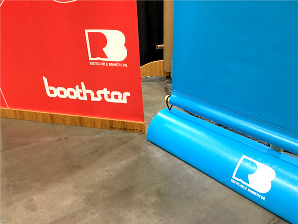 new standard for recyclable tradeshow bannerstands