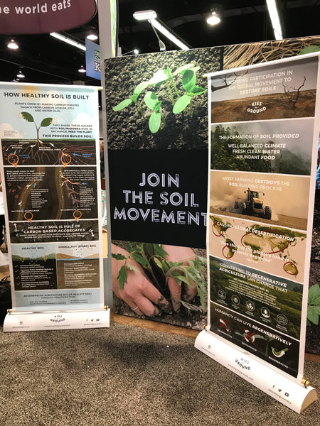 Recyclable Tradeshow Banner Stands at Natural Products Expo West