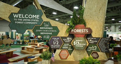 Booth Design Idea for Forest Service