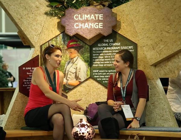 sustainable tradeshow booth design materials