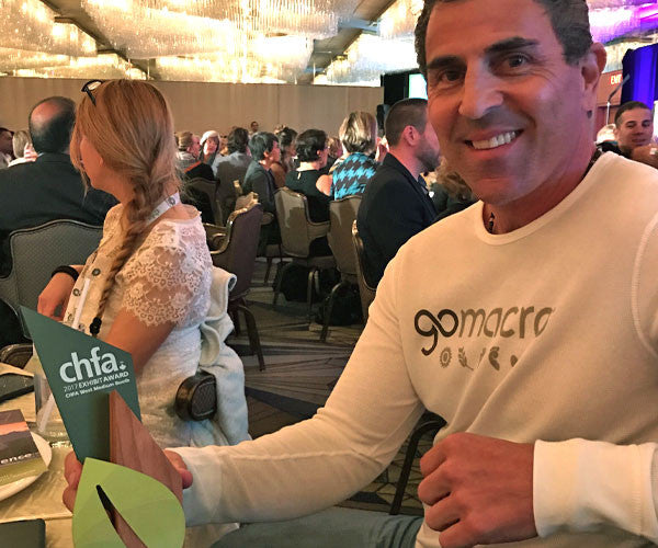 GoMacro and Boothster win Best Medium Sized Booth at CHFA West