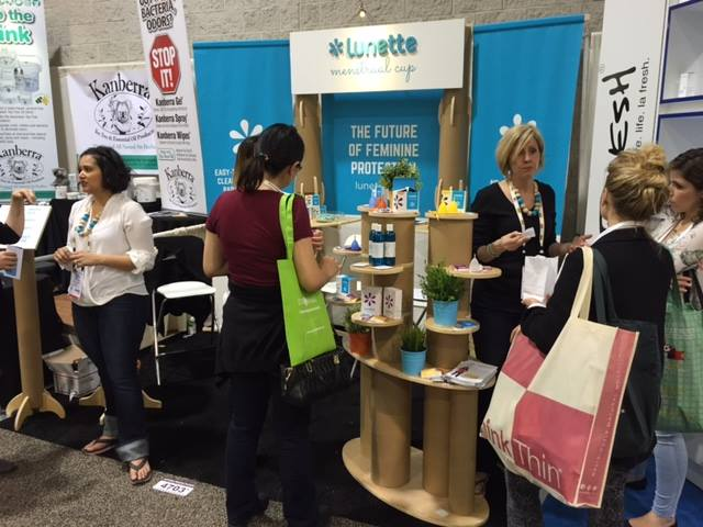 Tradeshow Booth Design for Lunette 2015