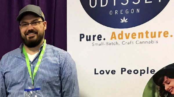 Odyssey Cannabis Co Tradeshow Banner Stands