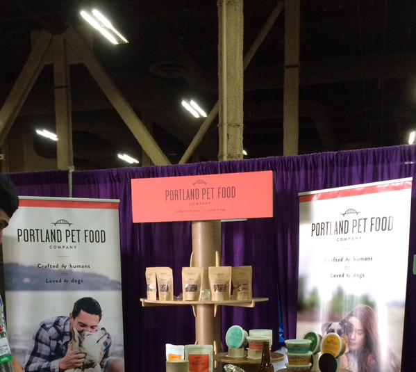 Tradeshow Booth Design for Portland Pet Food