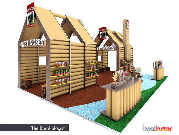 tradeshow booth design by the Boothologist