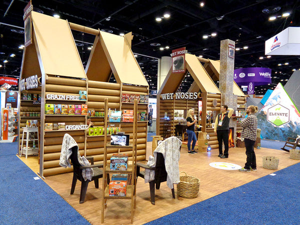 recyclable tradeshow booth design for the greenbuild conference