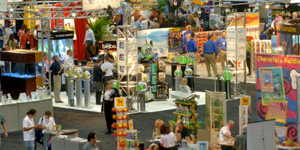 eyecatching booth design for busy tradeshows