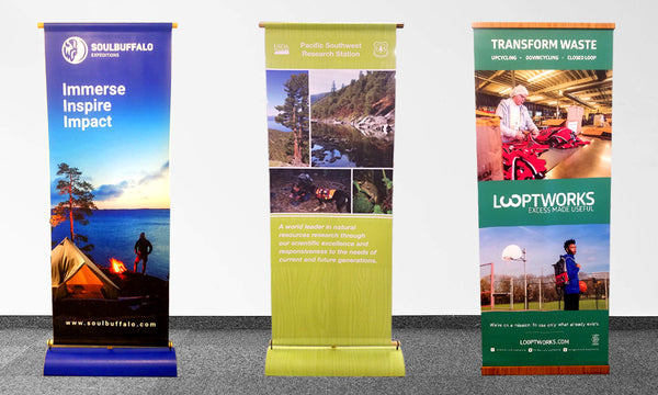 ecofriendly tradeshow bannerstands