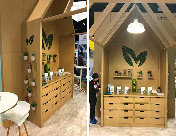 environmentally friendly custom tradeshow booth design