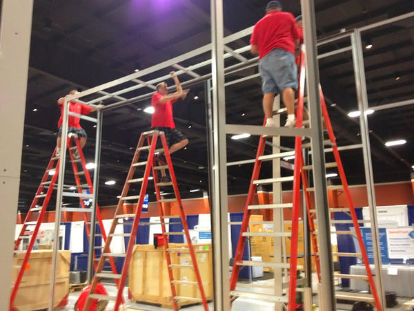 labor costs and sustainable tradeshow booth construction