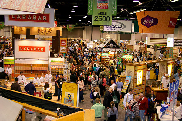 Ecofriendly Tradeshow Booth Design at the Natural Products Expo West