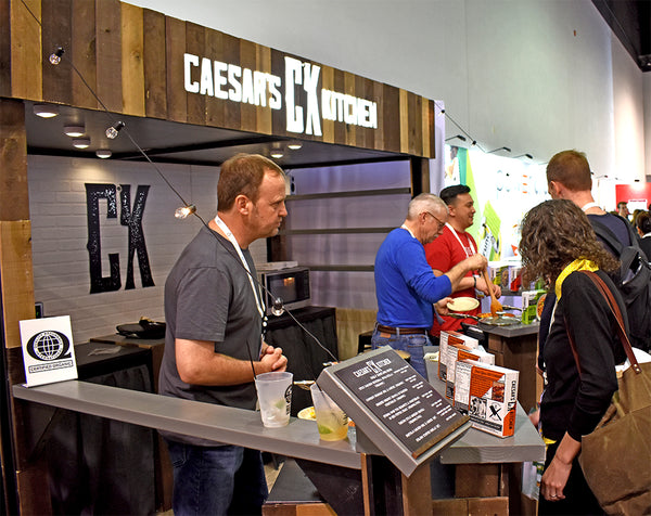 patron friendly custom booth design for food industry