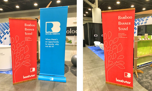 recyclable tradeshow banner stands are the new standard for ecofriendly signage