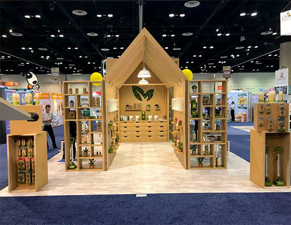 recyclable tradeshow booth design