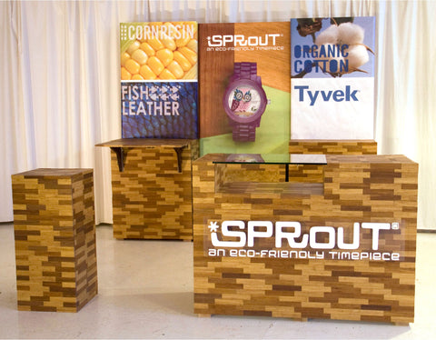 Booth Design Idea - Sprout Bamboo