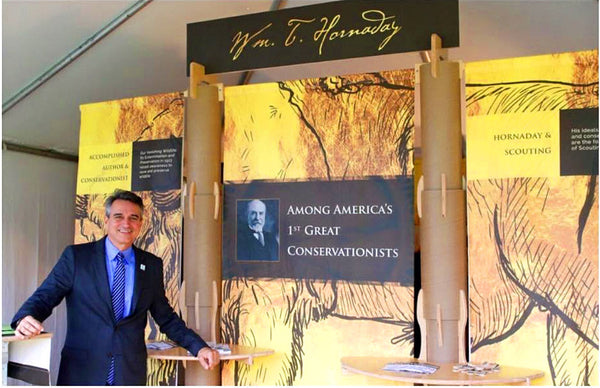 sustainable tradeshow booth design for the boy scouts of america