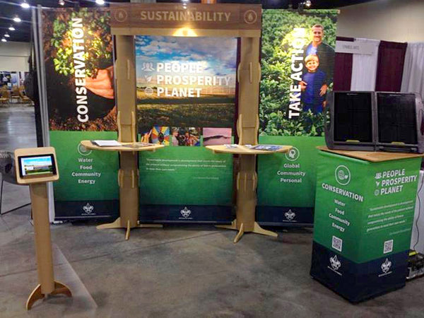 tradeshow booth design for government organizations