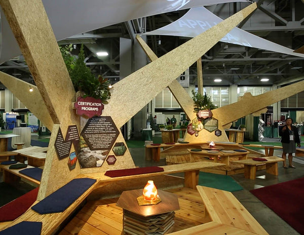 sustainable tradeshow booth design