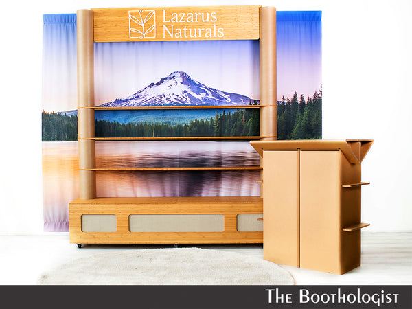 tradeshow booth for cannabis industry