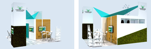 Custom Tradeshow Booth Design for Verdure Sciences