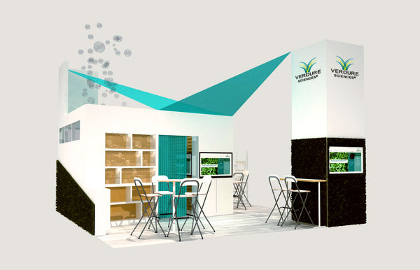 Verdure Tradeshow booth display
