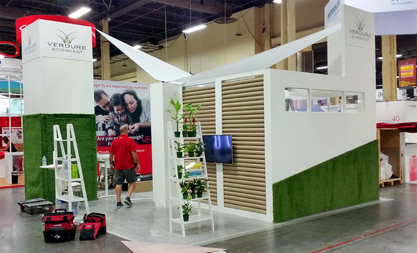 Verdure Sciences Custom Tradeshow Booth Construction
