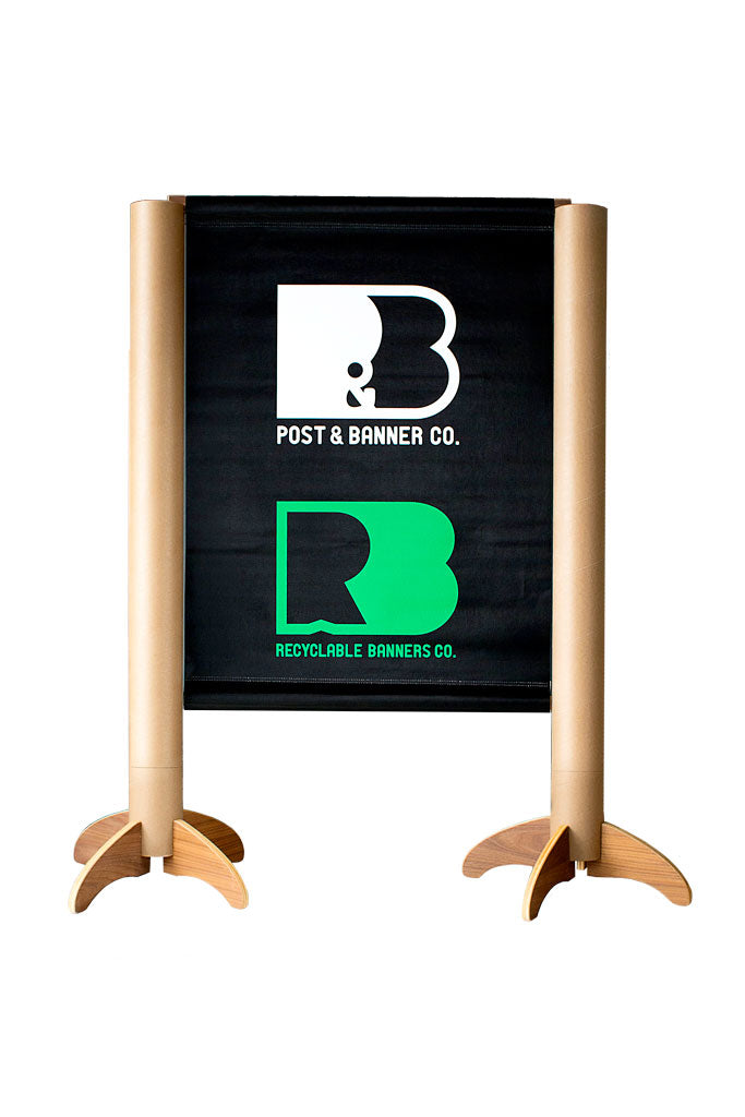 Recyclable Tabletop Tradeshow Banner Stand