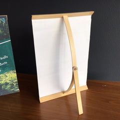 Baby Vertical Banner Stand - Bamboo