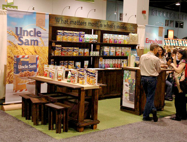 Attune Foods Tradeshow Booth at the Natural Products West Show