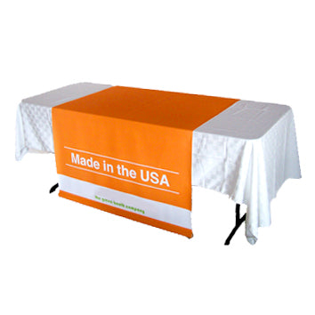 Custom Designed Table Runners and Banners