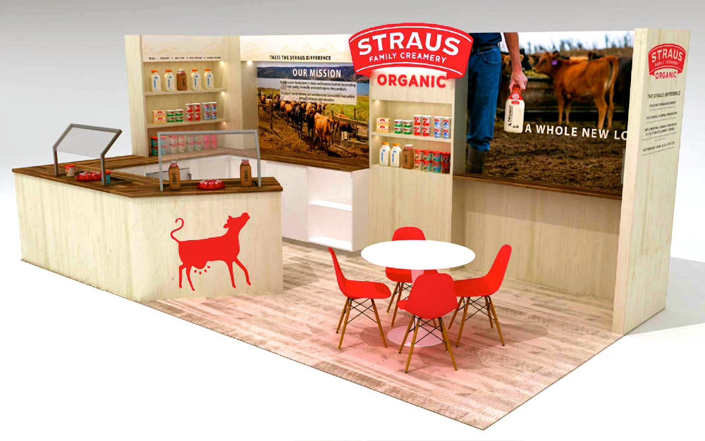 Green Tradeshow Booth Design Ideas Using Sustainable and EcoFriendly Booth Construction Materials