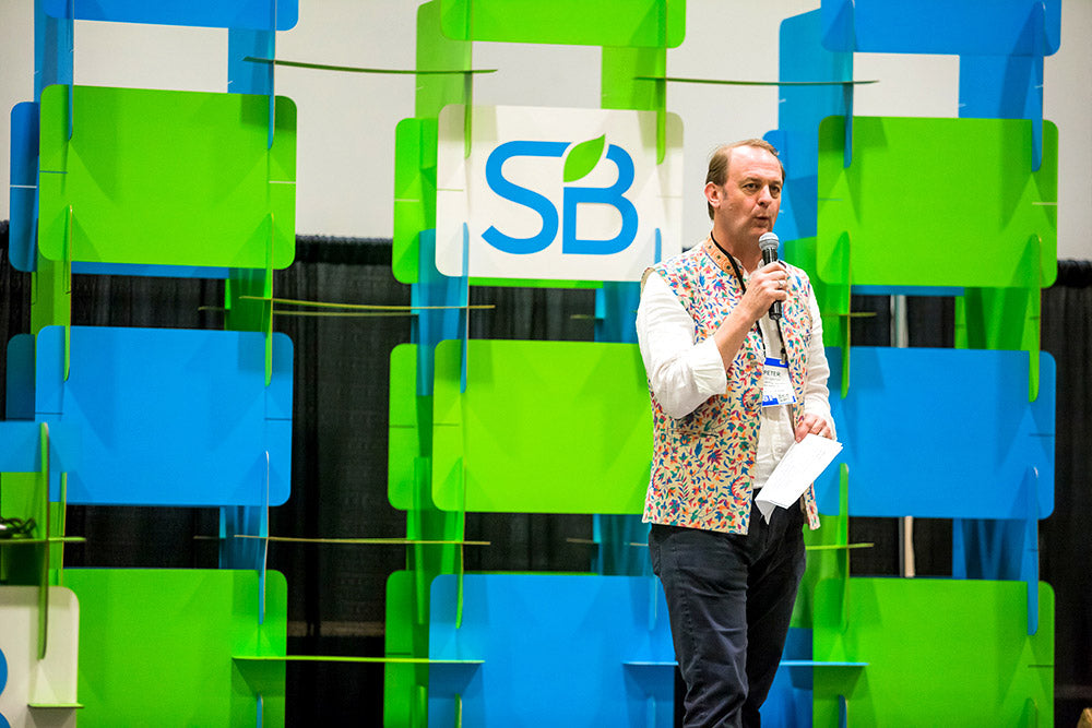 Custom Tradeshow Stage Design for 2018 Sustainable Brands Show