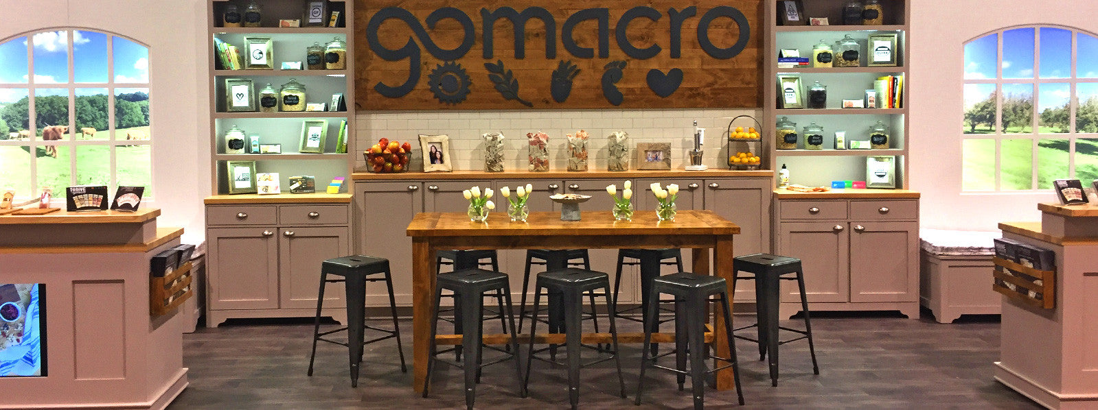 Award Winning Custom Sustainable Tradeshow Booth Design for GoMacro