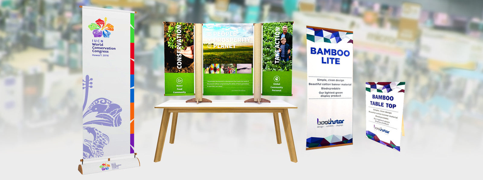 Tradeshow Banner Stands and Signage