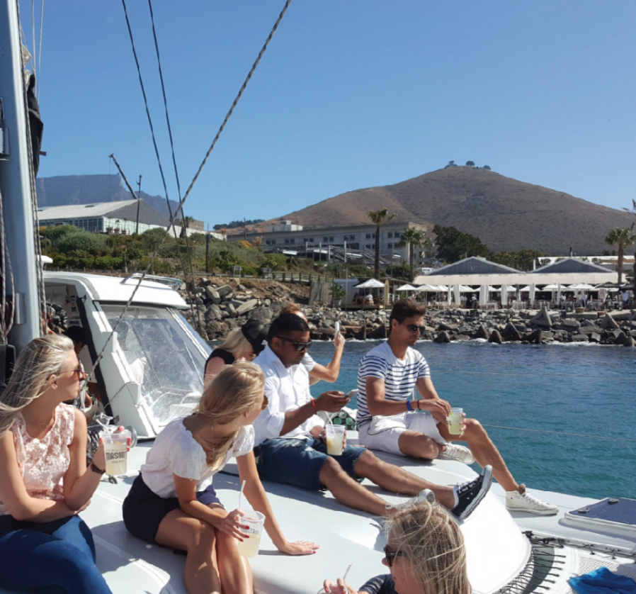 Boat Trip & Departure From Cape Town