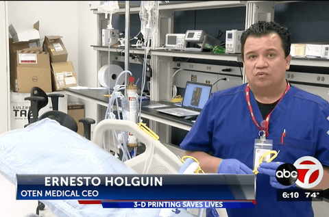 OTEN Medical's iLines are being used during the COVID pandemic to manage iv pumps outside of patient rooms to limit nurse exposure and conserve PPE.