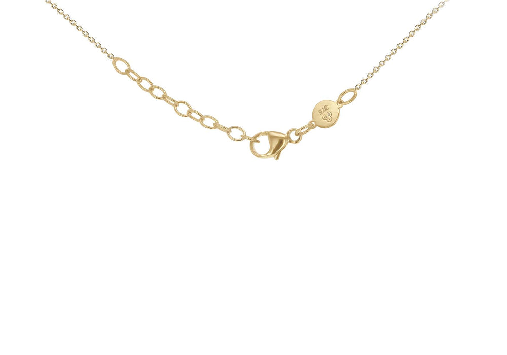 Load image into Gallery viewer, 9ct Yellow Gold Horizontal Bar Necklace