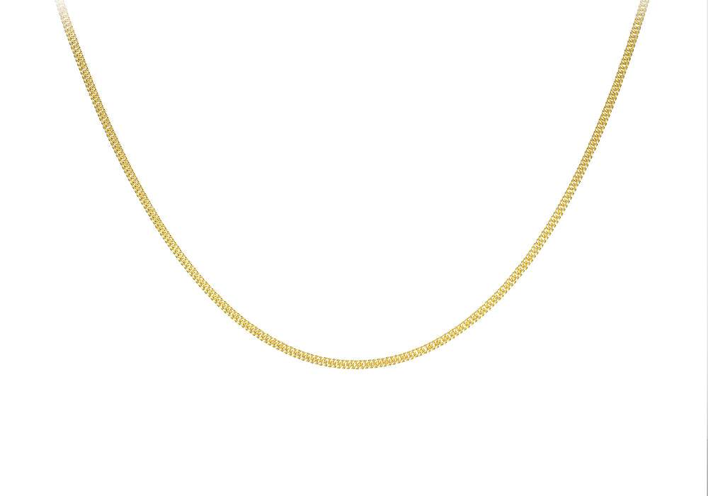 9ct Gold Curb Link Chain - Diana O'Mahony Jewellers