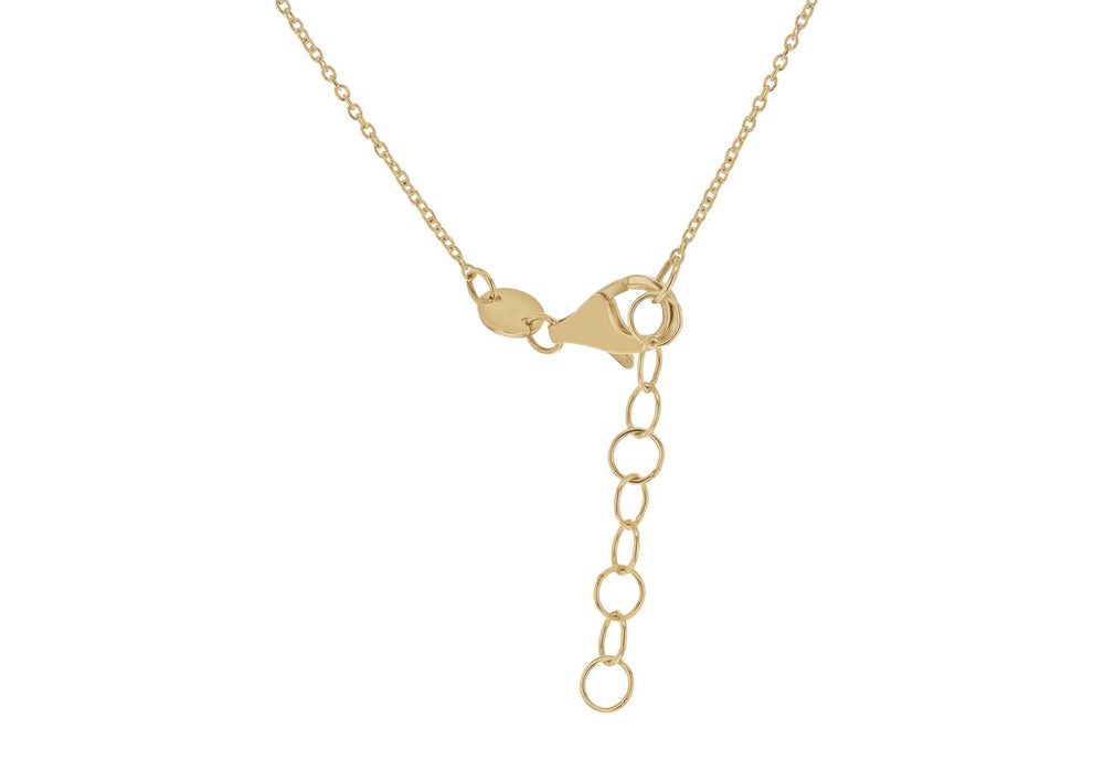 9ct Gold Chain with Five Oval Drops - Diana O'Mahony Jewellers