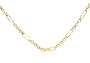 9ct Gold Albert Style T-Bar Chain - Diana O'Mahony Jewellers