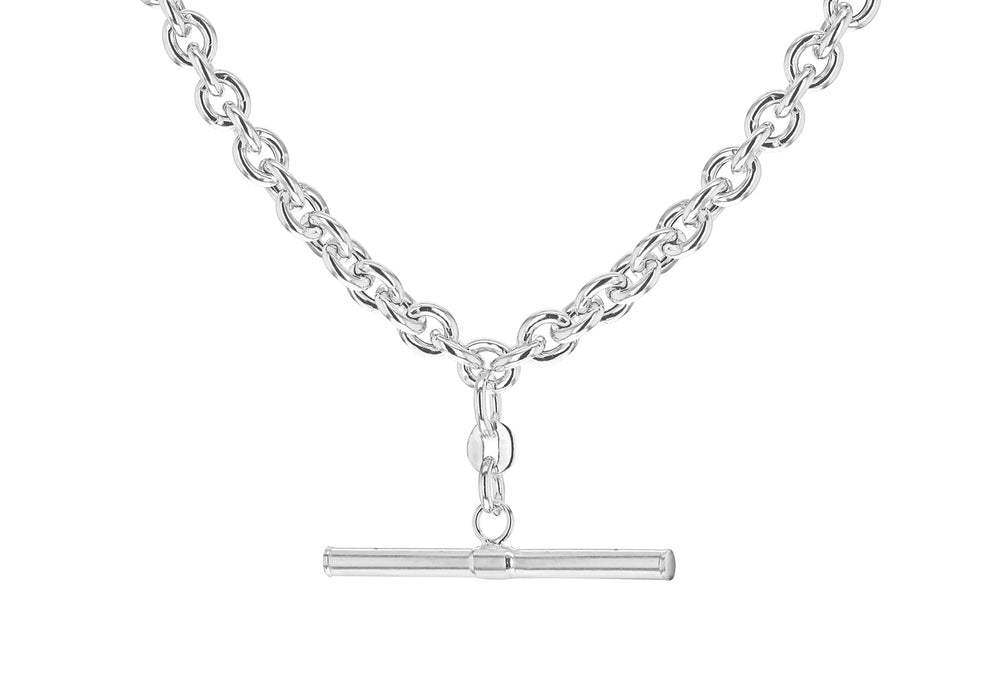 Sterling Silver T-Bar Chain
