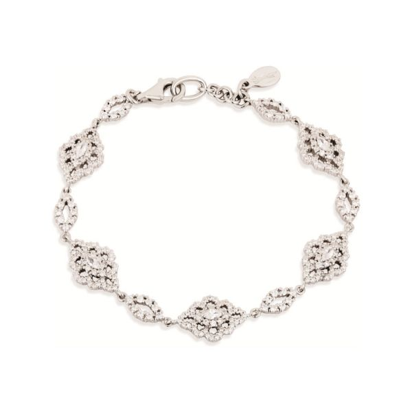 Paul Costelloe Marquise Shaped Cluster Vintage Style Bracelet - PC8034