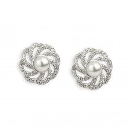 Paul Costelloe Vintage Pearl Cluster Earrings
