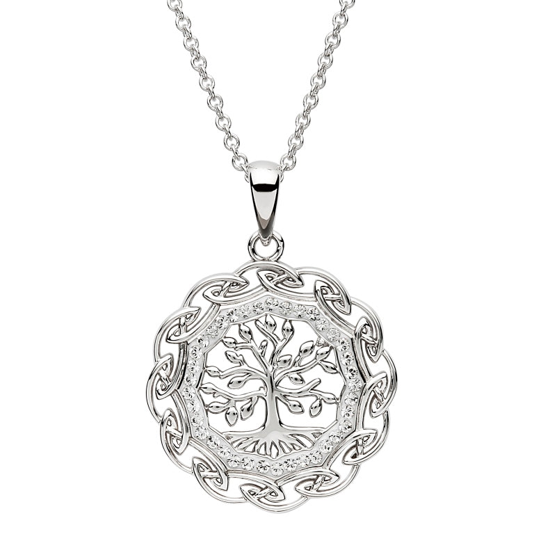 Sterling Silver Celtic Tree of Life Pendant by Shanore