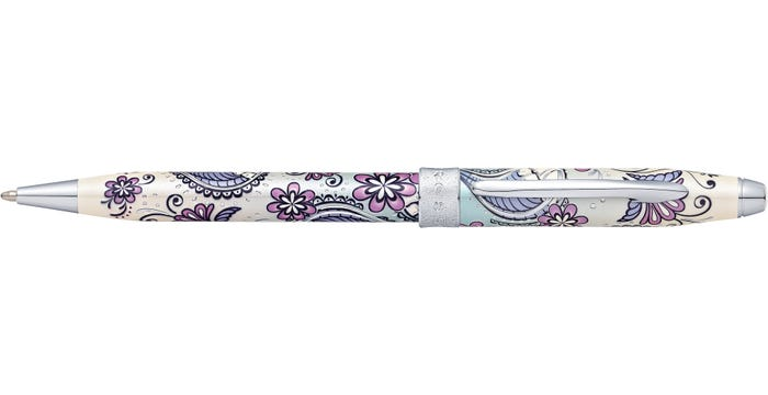 Cross Botanica Purple Orchid Ballpoint Pen at0642-2 - Diana O'Mahony Jewellers