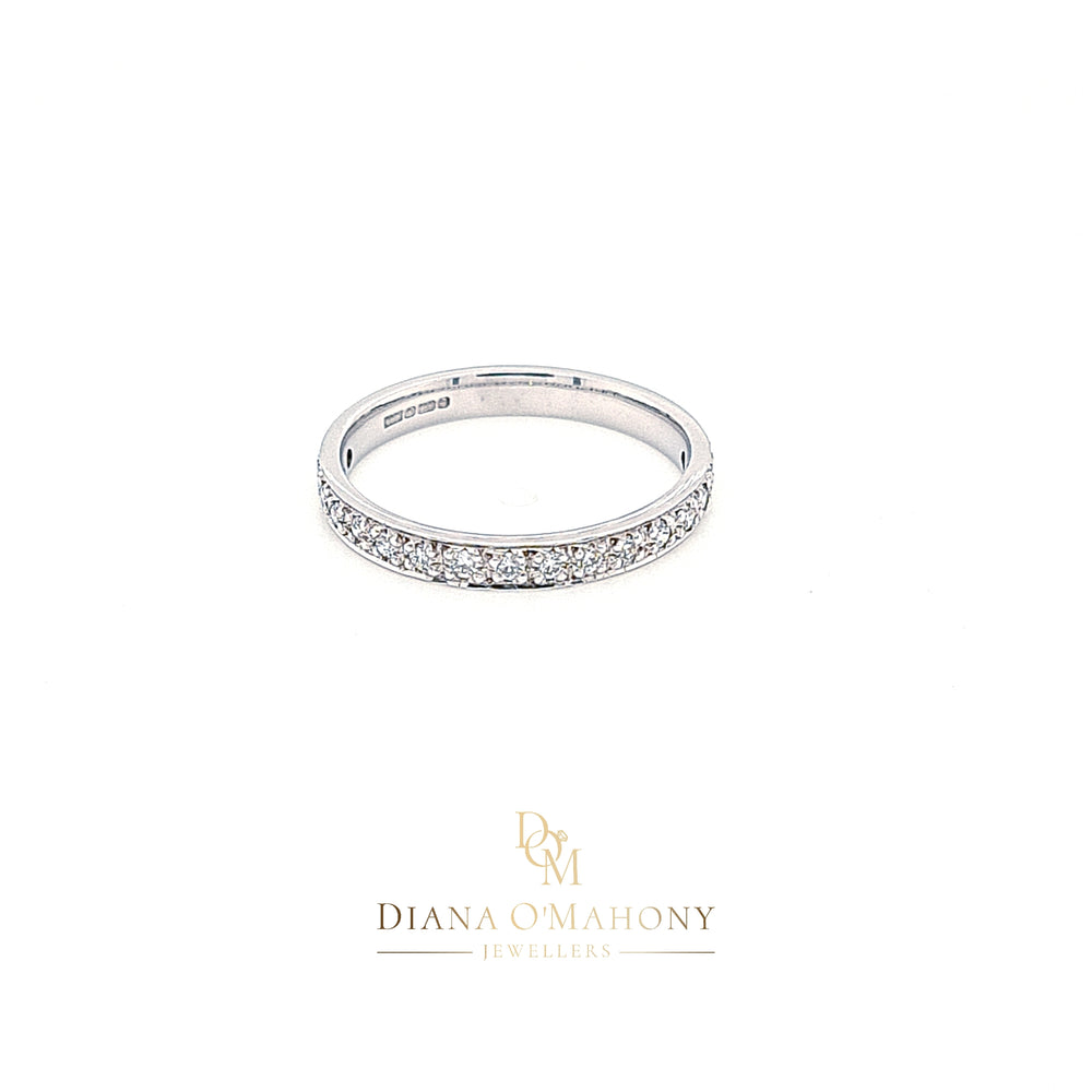 18ct Gold Pavé-set Diamond Eternity Ring