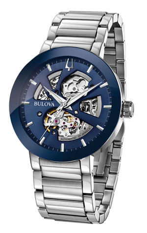 Gents Bulova Futuro Automatic Watch - 96A204