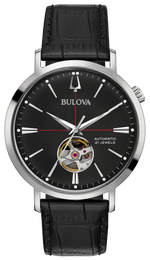 Gents Bulova Aerojet Automatic Watch - 96A201