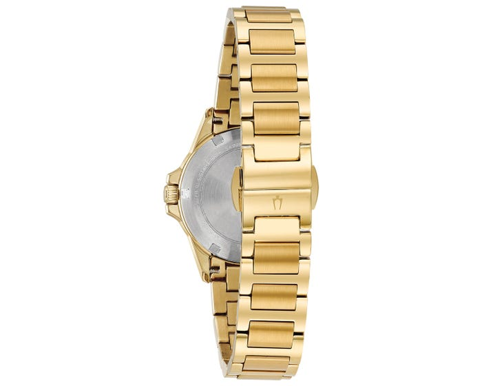 Gents Bulova Regatta Gold Watch - 97A153